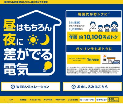 昭和シェル石油ホームプラン